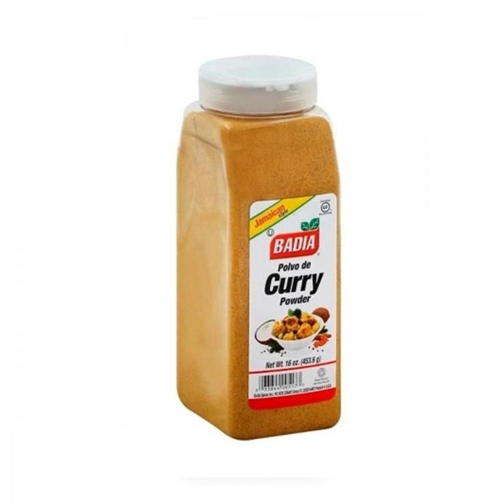 Badia Curry en Polvo Powder Jamaican Style Gluten Free 16 Oz (453.6 G) D1114 Badia