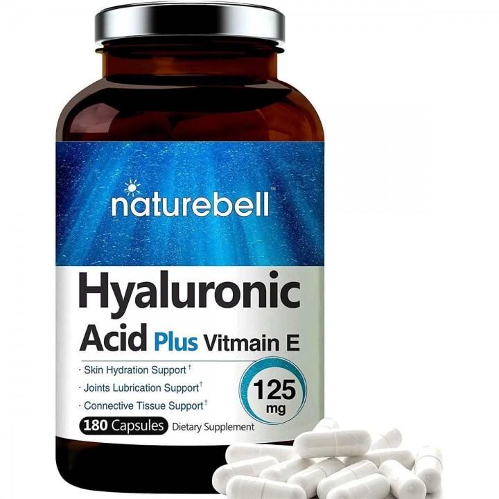 Naturebell Acido Hyaluronico Plus Vitamina E Nutrición e Hidratacion de la Piel