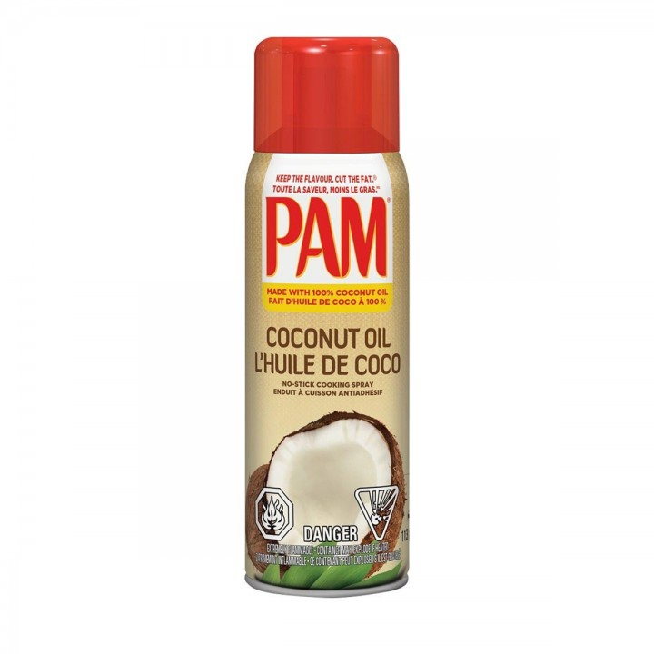 Pam Spray antiadherente Aceite de Coco Sin Colorante Artificiales Tienda 306
