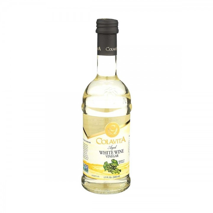 Colavita Vinagre de Vino Blanco excelente para ensaladas Tienda 306