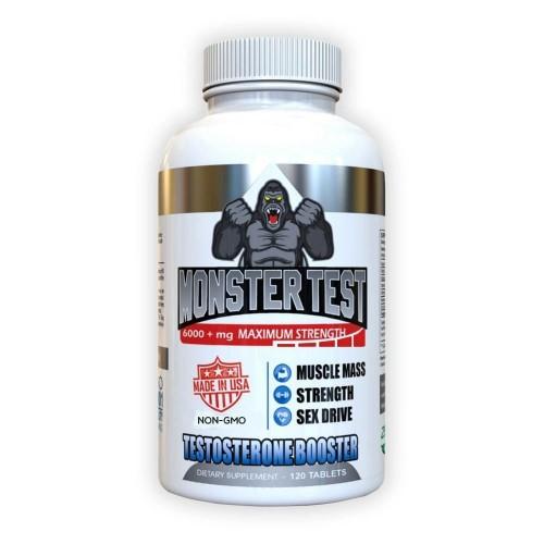 Monster Test Kit Aumento Testosterona 120 tabletas / 60 cápsulas V3178 Monster Test