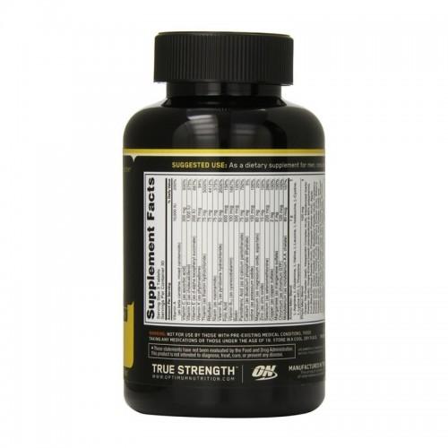 ON Optimum Nutrition Opti-Men Suplemento Multivitaminico para Hombres 150 Tabletas V3109 Optimum Nutrition