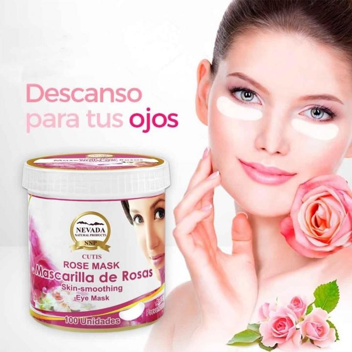 Mascarilla de Rosas Para los Ojos Nevada Natural Products Caja 100 unidades C1080 Nevada Natural Products