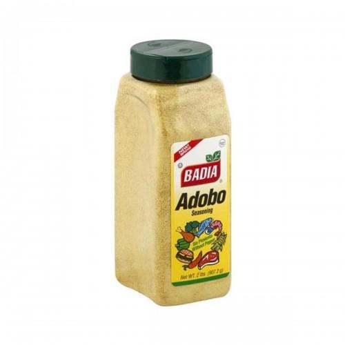 Condimento Badia Adobo Sazonador Sin Pimienta Net. 2 lbs (907.2g) D1115 BADIA
