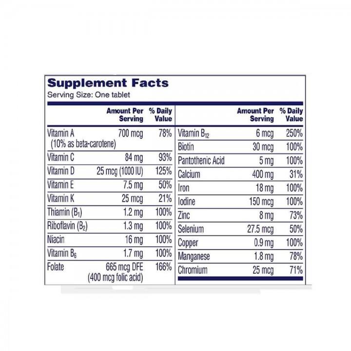 One A Day Mujeres Bayer Suplemento Multivitaminico Completo 200 Tabletas V3206 Bayer