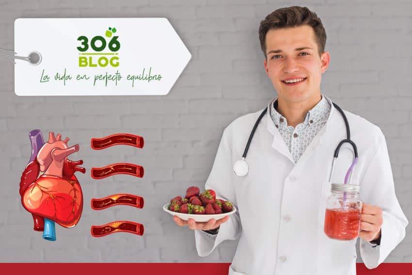 Batido de Remolacha con Frutos Rojos para el colesterol y los triglicéridos